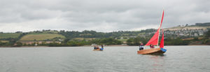 seahopper boats having fun on the River Teign