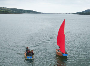family seahopper outing on the River Teign