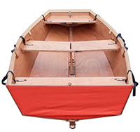 choose your boat colour - red