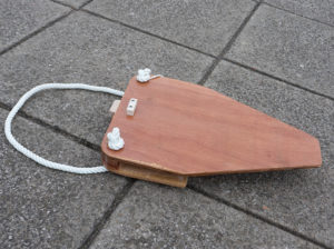 seahopper wooden motor mount aerial view